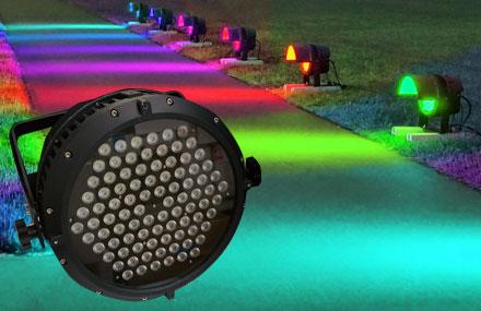 RGBフルカラーステージライト