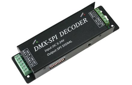 DMX-SPIデコーダ