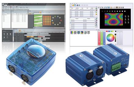 DMXコントロールシステム